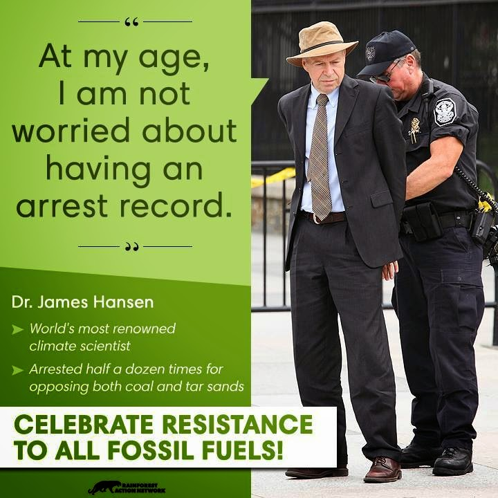 At my age I'm not worried about having an arrest record (Credit: www.facebook.com/iheartcomsci)