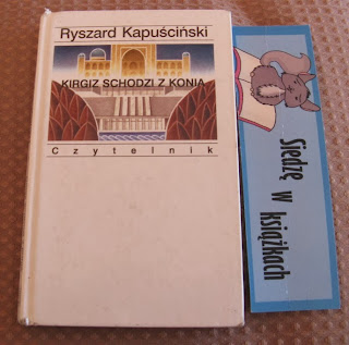 Kirgiz schodzi z konia okładka książki