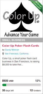 Color Up poker indiegogo
