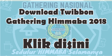Twibbon Gathering 2018