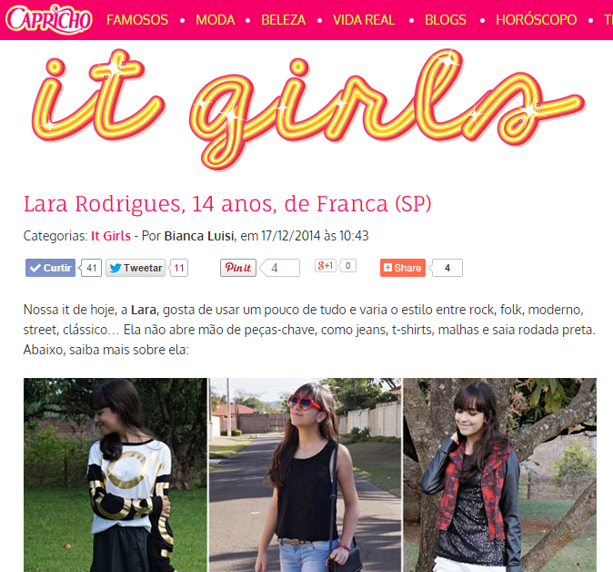 It Girls - Capricho