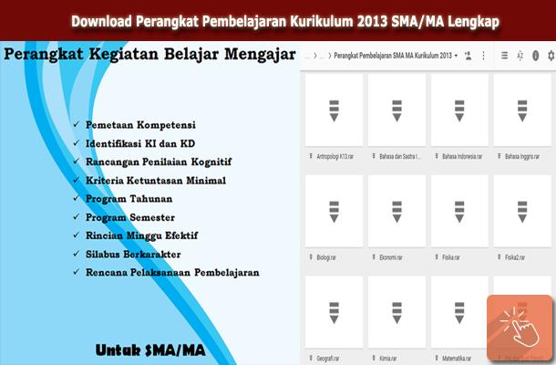Download Perangkat Pembelajaran Kurikulum 2013 SMA/MA Lengkap