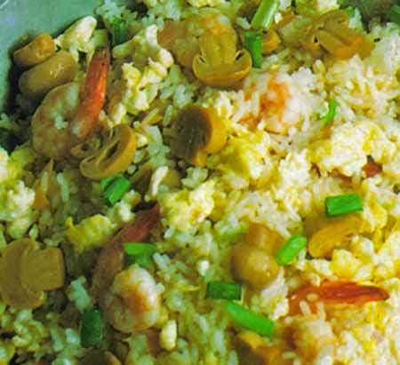 Nasi Keju Jamur