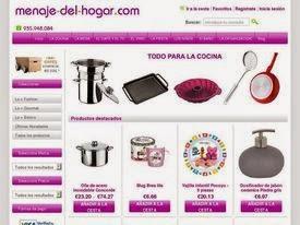Ecommerce y marketing todo el menaje de cocina en www for Menaje cocina online