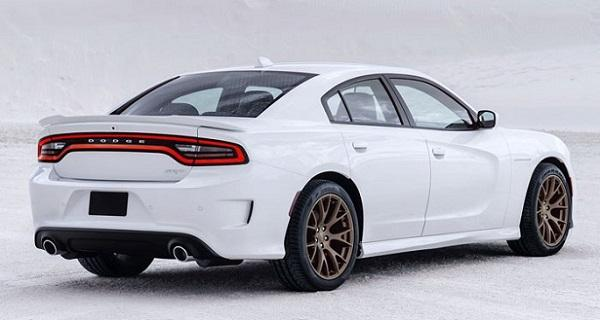 2016 Dodge Charger Rear