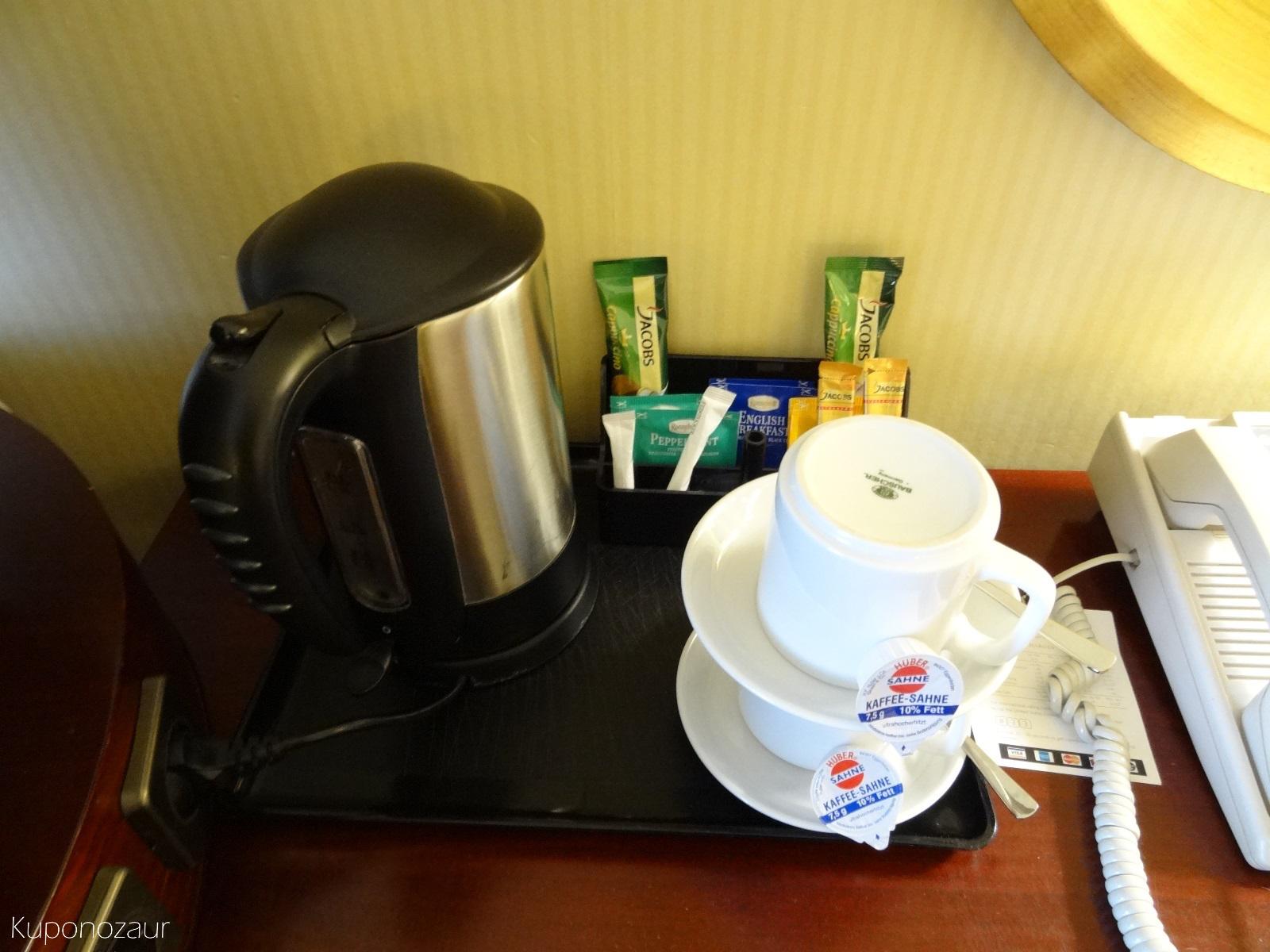 Hotel InterContinental Frankfurt czajniczek do kawy/herbaty