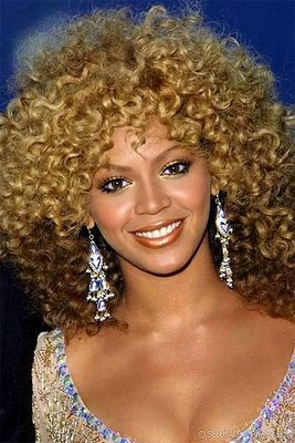 curly fros hairstyle > straight