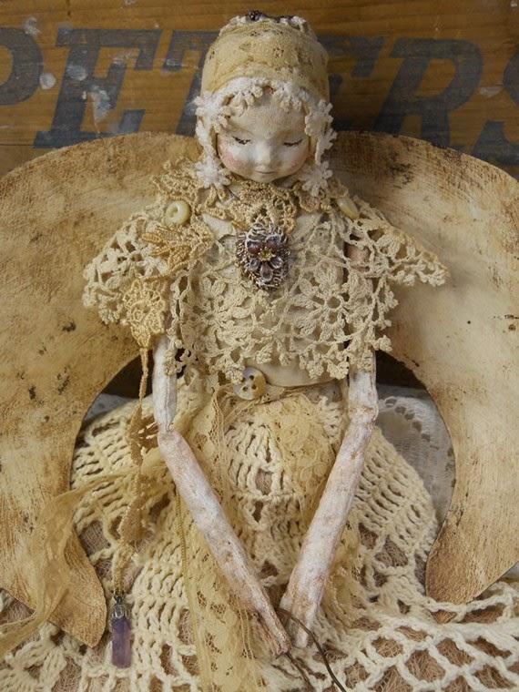 koronkowy aniol