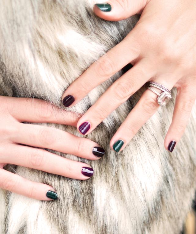 Sonia Kashuk Makeup, fall nail colors