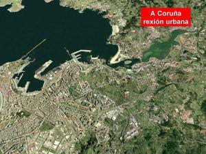 Evolución da Coruña