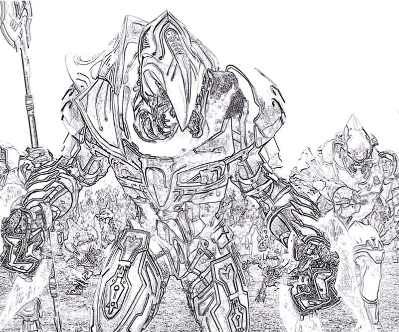 Halo 4 Coloring Pages To Print Free Coloring Pages