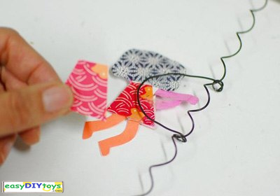 Handmade The swinging girl Toys easy to make