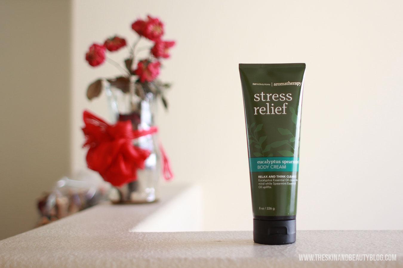 Bath and Body Works in Eucalyptus Spearmint Body Cream Review