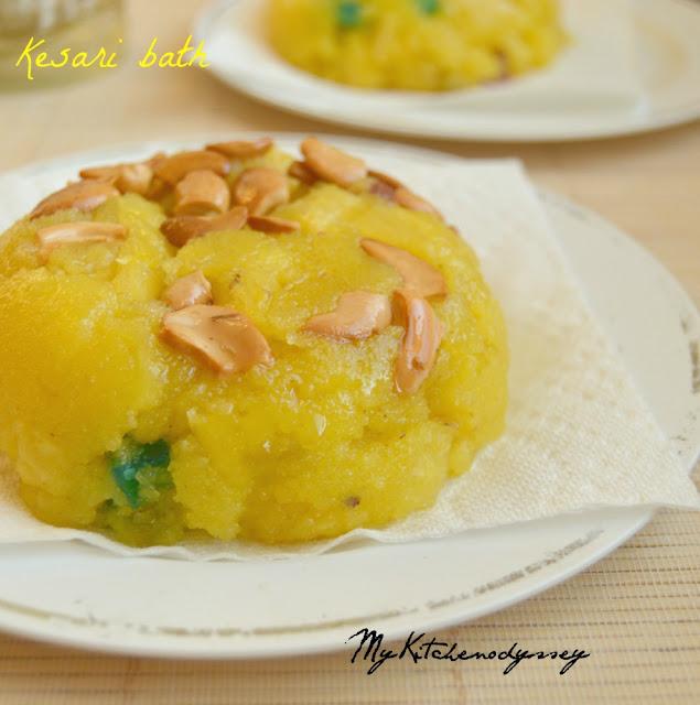 pineapple kesari recipe3