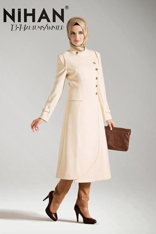 Nihan 2013/2014 sonbahar kış pardesü ve kaban modelleri