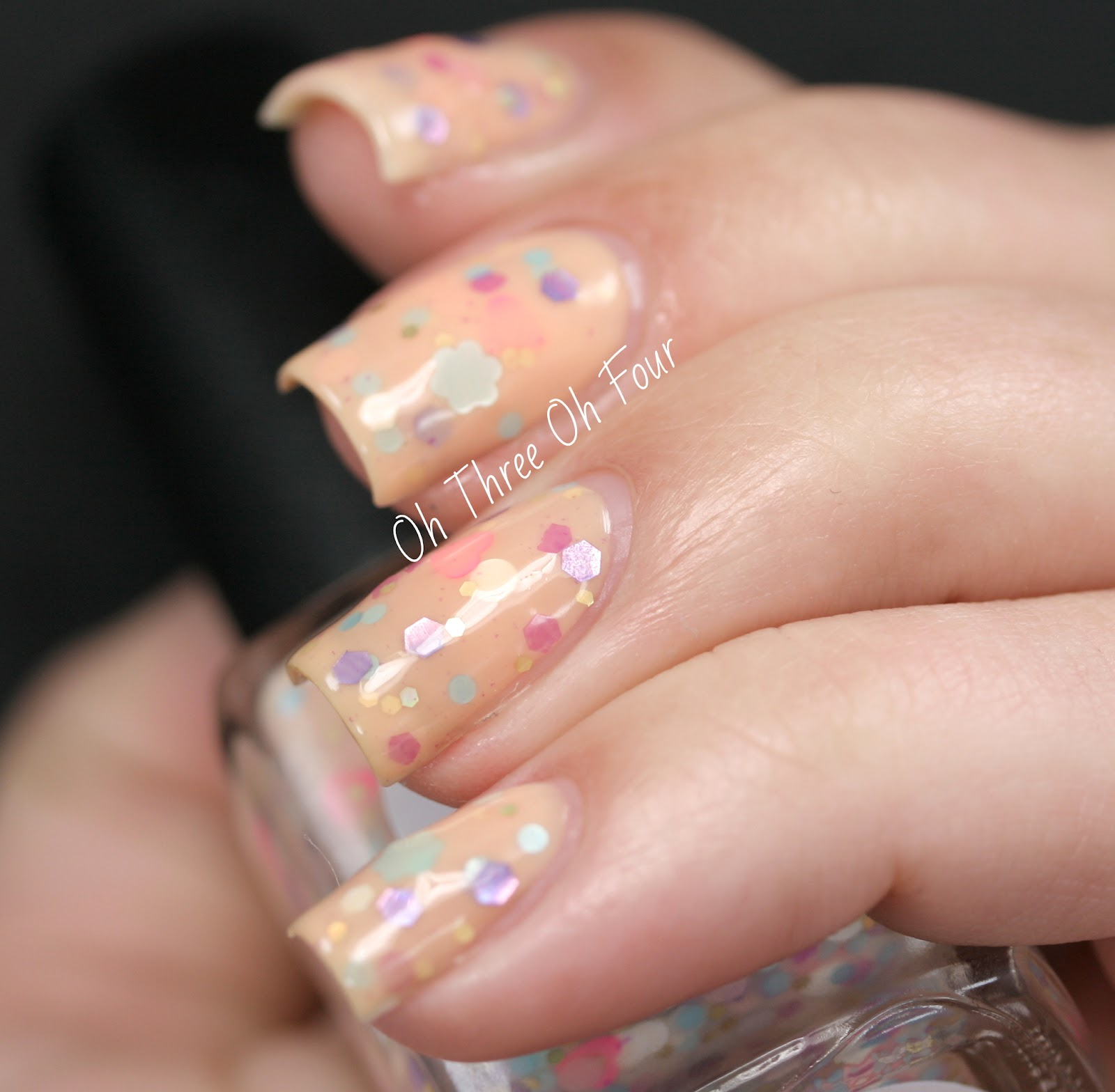 Rain City Lacquer Beach Blossoms swatch