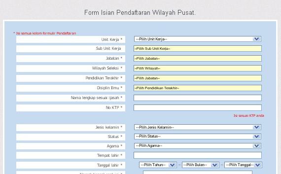 cara pendaftaran online cpns kemenkumham image