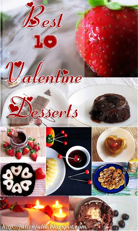 Best 10 Valentine Desserts أسهل 10 وصفات حلو رومانسية