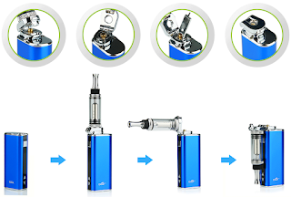 Eleaf iStick Stickers Bending adapter is new accessory designed