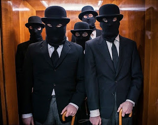 stockbrokers in balaclavas