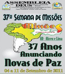 37ª SEMANA DE MISSÕES