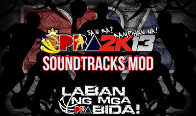 PBA 2K13 Pinoy Music Soundtracks Audio Mod