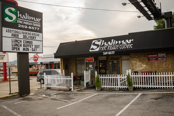 Shalimar Indian Restaurant in Nashville Tennessee