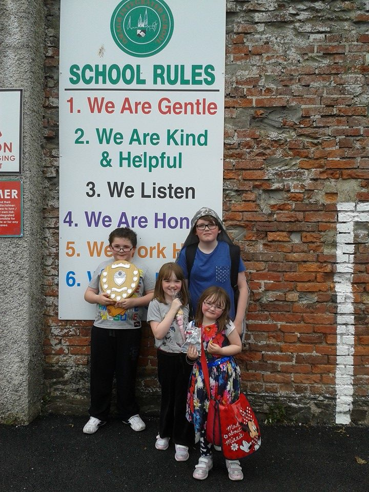 Ryan's last day at Primary school - June 2015