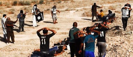 Yajaidistas en Irak asesinan soldados formados por USA