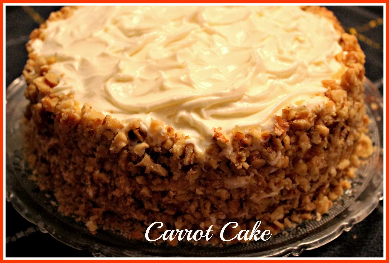 Sweet Tea And Cornbread Carrot Cake