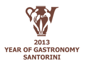 2013 year of gastronomy - Santorini