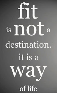 Fit is not a destination, is a ways of living