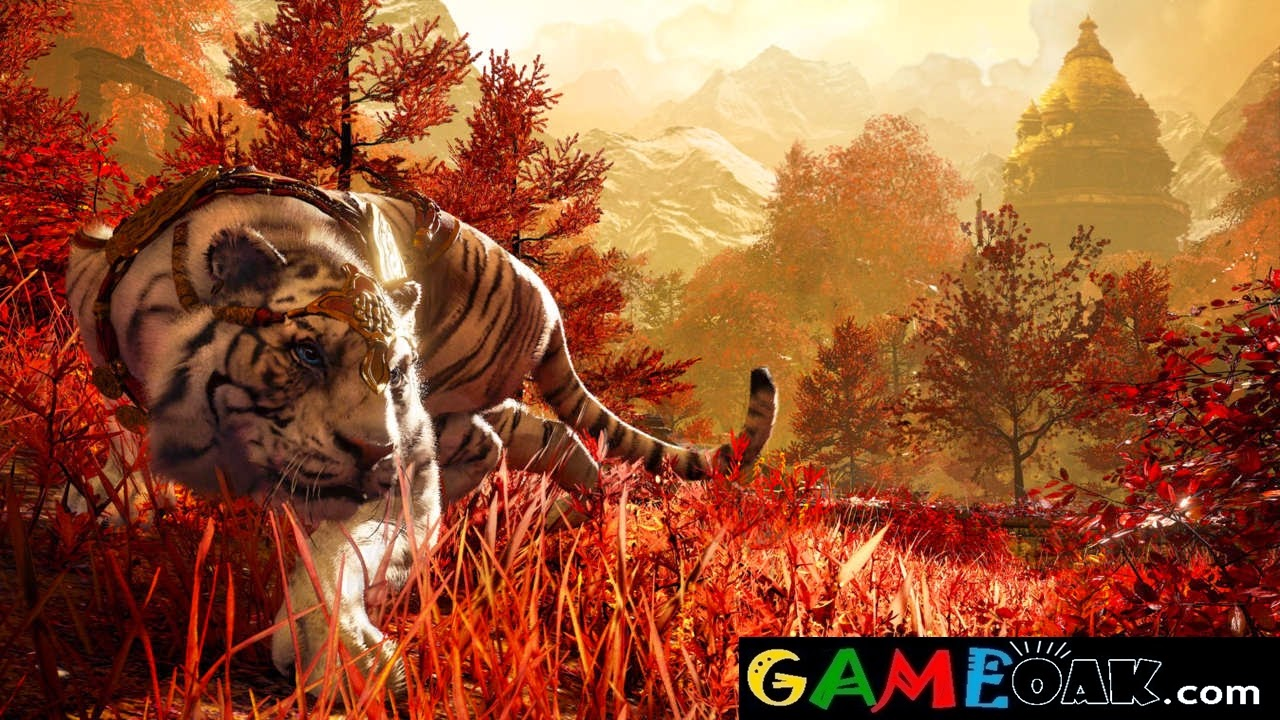 A tiger came during the game in Far Cry 4