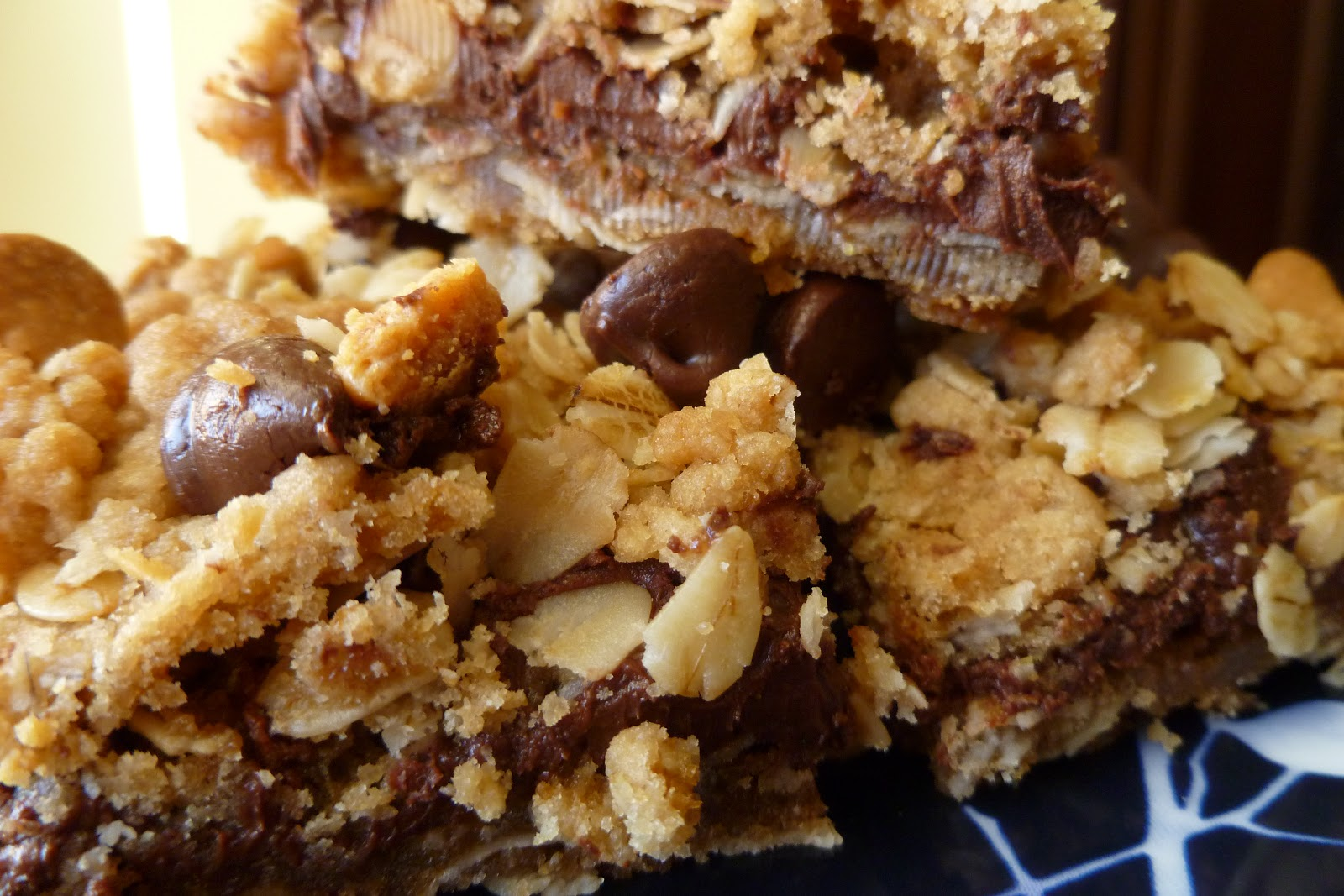 The Pastry Chef's Baking: Peanut Butter & Chocolate Oatmeal Bars