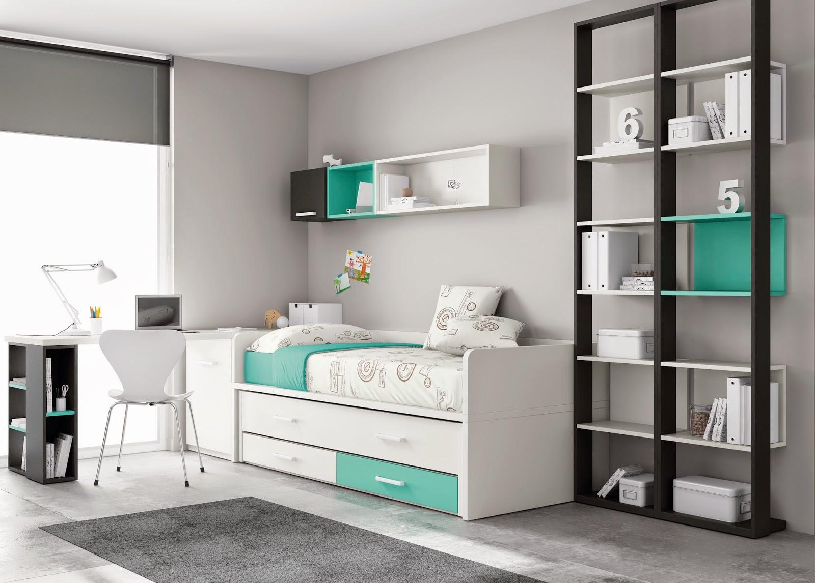 Camas nido muebles ros ahorrar espacio for Muebles infantiles valencia