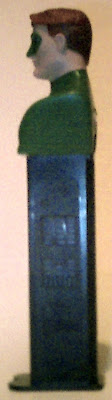 Left side of Green Lantern bust PEZ