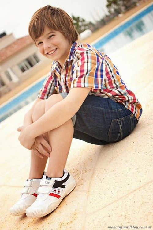 zapatillas infantiles verano 2014 plumitas
