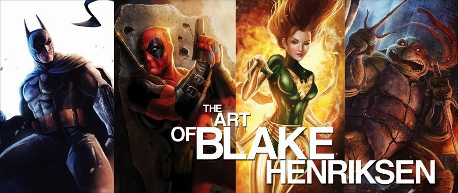 The Art of Blake Henriksen