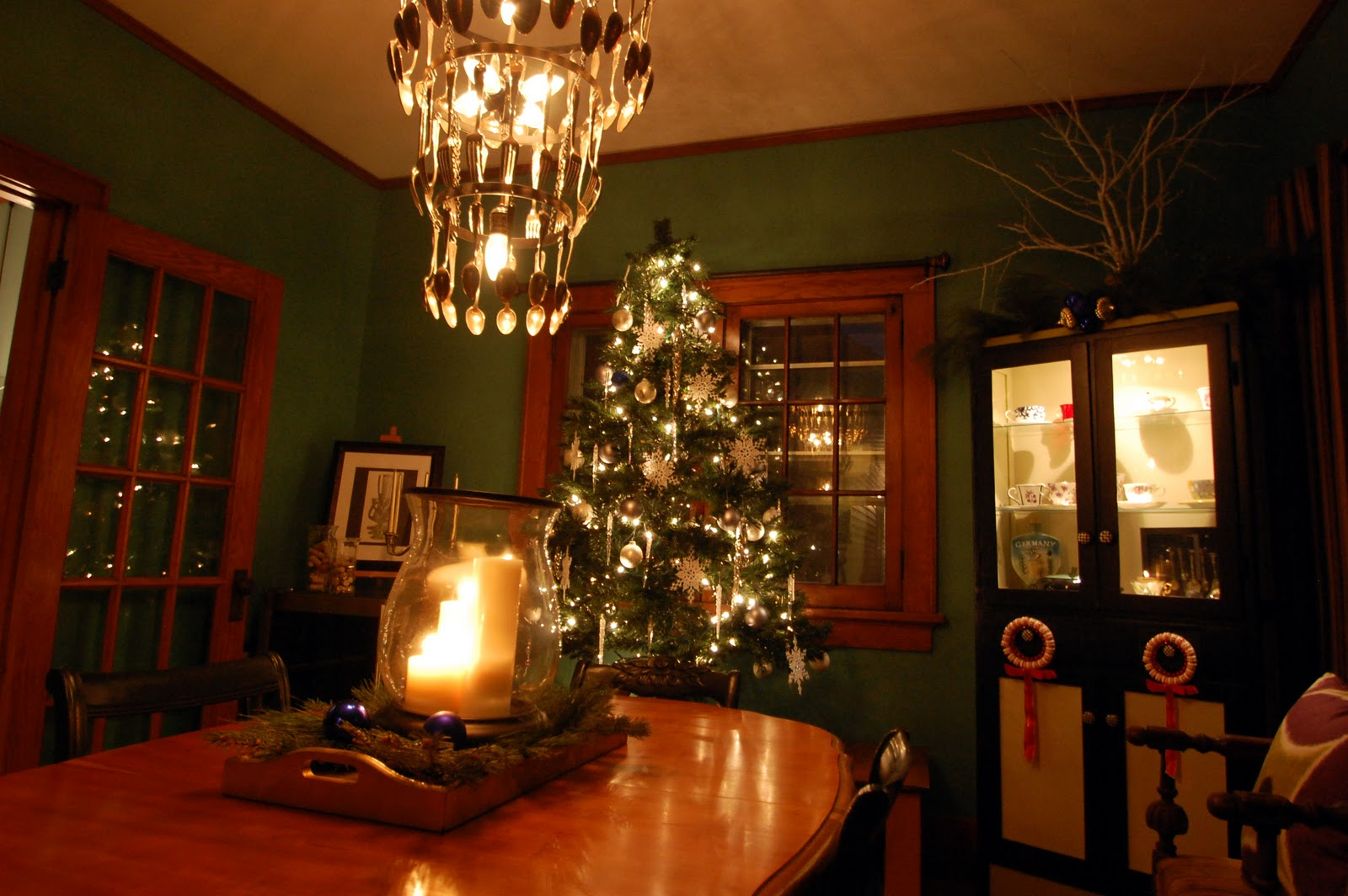 Happyroost my home for the holidays for Room decorations christmas
