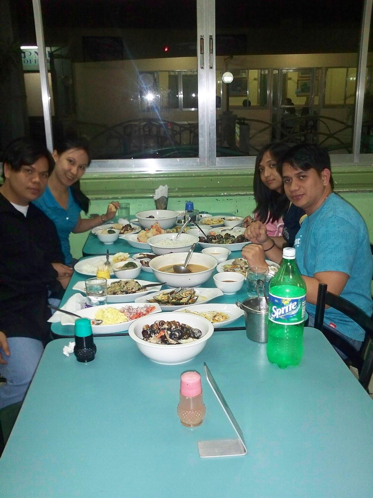Manila Philippines Dampa Seafood Restaurant