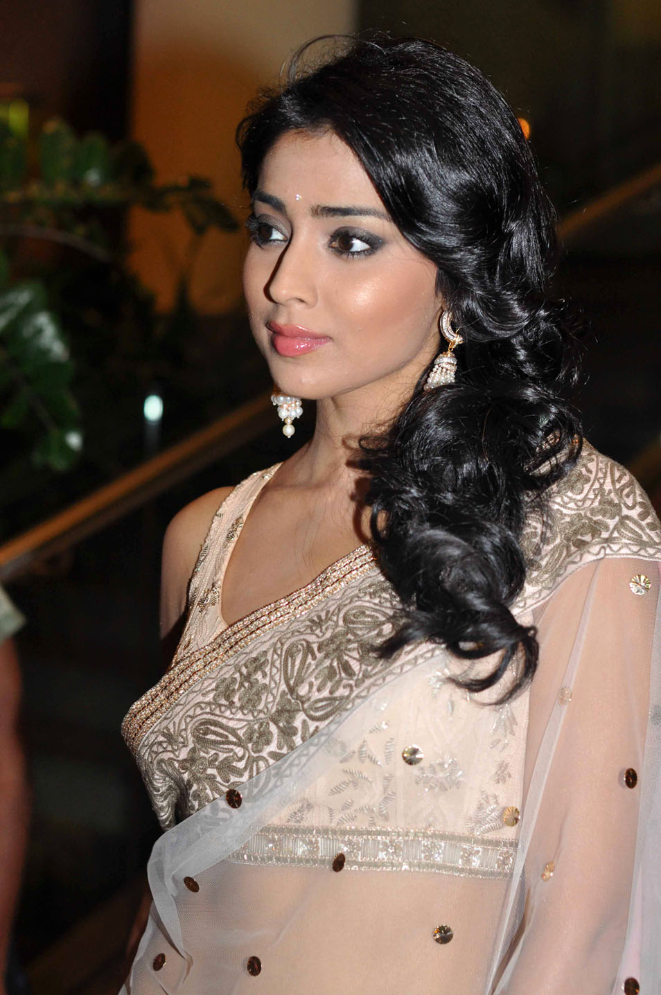 Shriya Saran Latest Hot Saree Stills | Maa Heroins