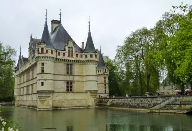 Castillo de Azay-le-Rideau.