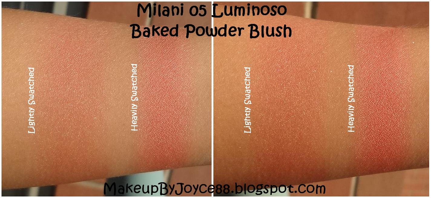 MakeupByJoyce ** !: Swatches, Comparisons + Review: Milani ...