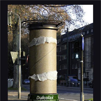 Street marketing dulcolax marketing choc marketing de rue