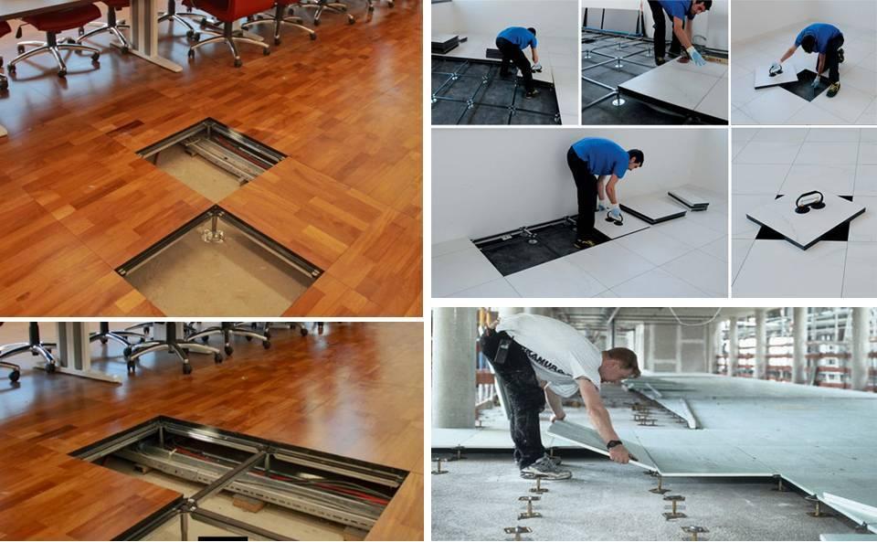 Heavy duty floor tiles