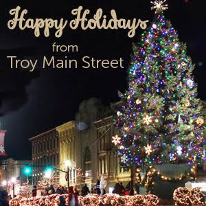 Troy Mainstreet Happy Holidays