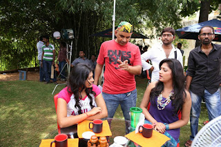 Galata Telugu Movie Working Stills