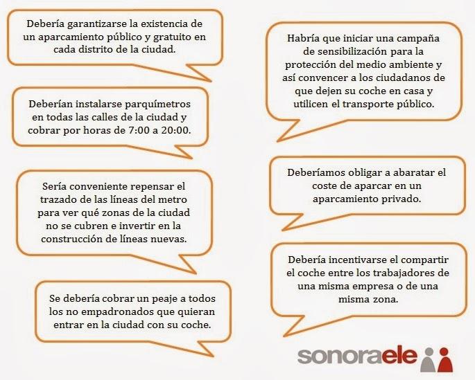 DELE B2 - PRUEBA 4 - TAREA 1 - OPCIÓN A (Propuestas)