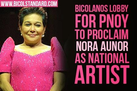 Nora Aunor as National Artist