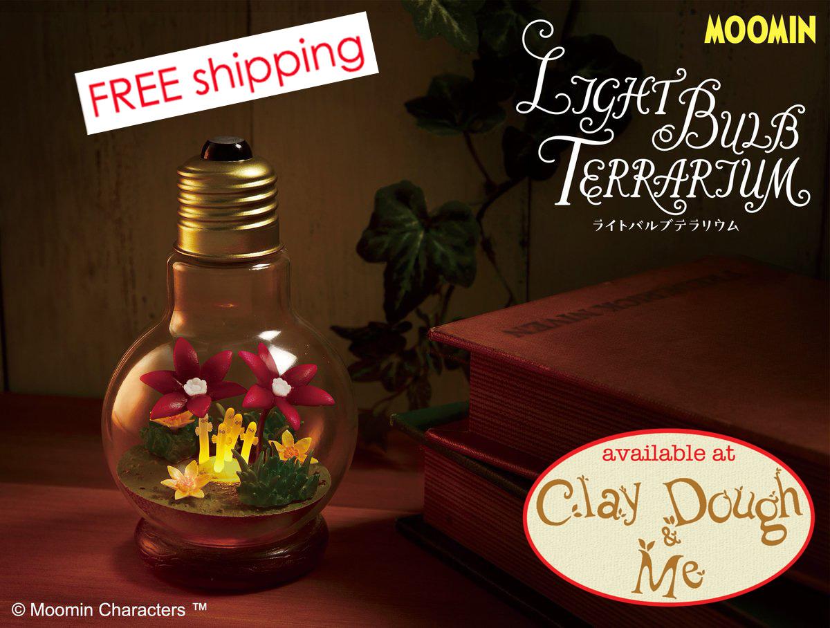 Re-Ment Miniature Moomin Story of Moomin Valley Terrarium # 1 Moomin